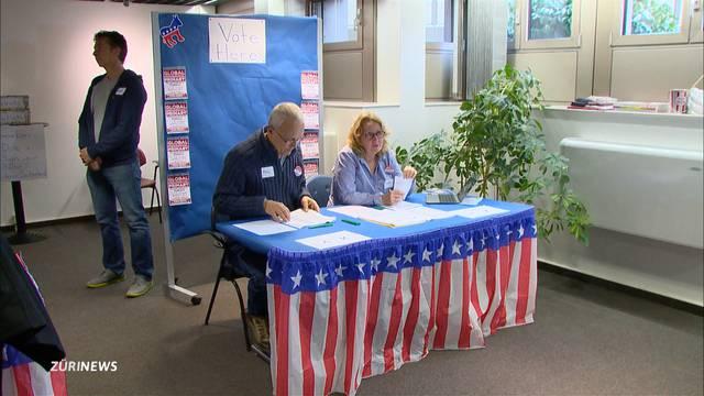US-Vorwahlen in Zürich