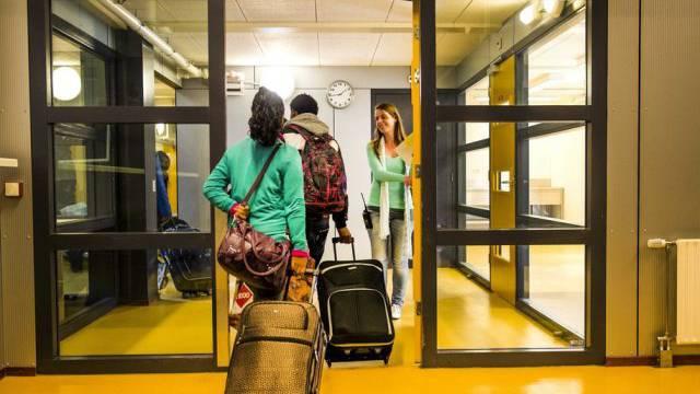 Asylbewerber in einem Zentrum in den Niederlanden (Archiv)