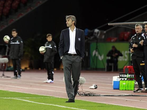Der Trainer hat sein Amt beim FCL im August 2012 übernommen.