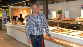 Beat Binggeli, Geschäftsführer des SV-Restaurants Tissot Velodrome.