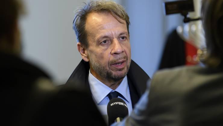 Gerät zunehmend unter Druck: SRG-Direktor Gilles Marchand.