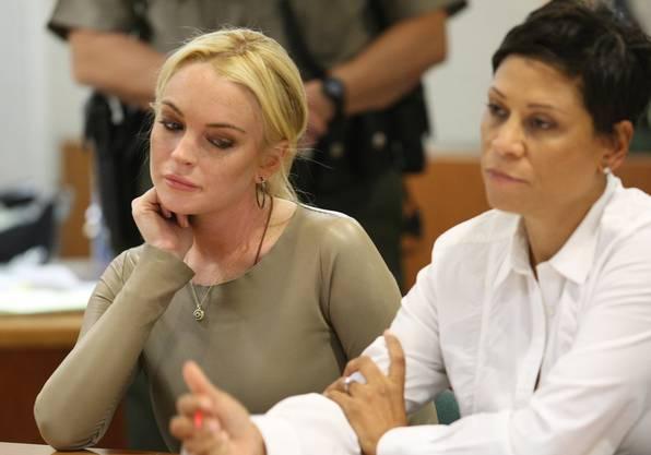 Lindsay Lohan hat kein einfaches Jahr hinter sich und musste sich immer wieder vor Gericht verantworten