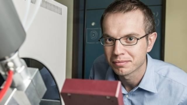 Der Biochemiker Martin Jinek (Bild: Universität Zürich).