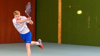 Der Zofinger Junior Luca Keist hat zum ersten Mal ein Finalspiel auf der ITF-Tour erreicht.