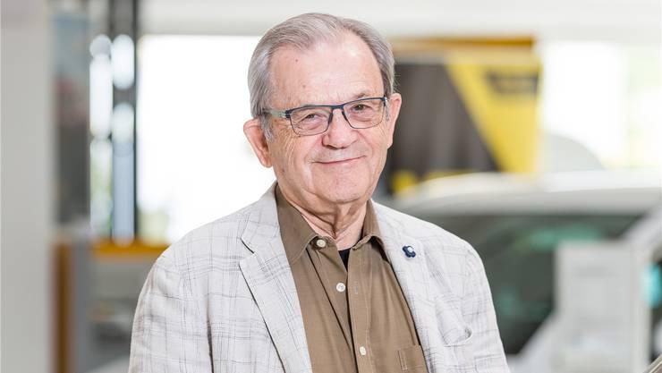 «Der Gewerbeverein war halt ein wenig mein Baby», sagt Rolf Germann (79).