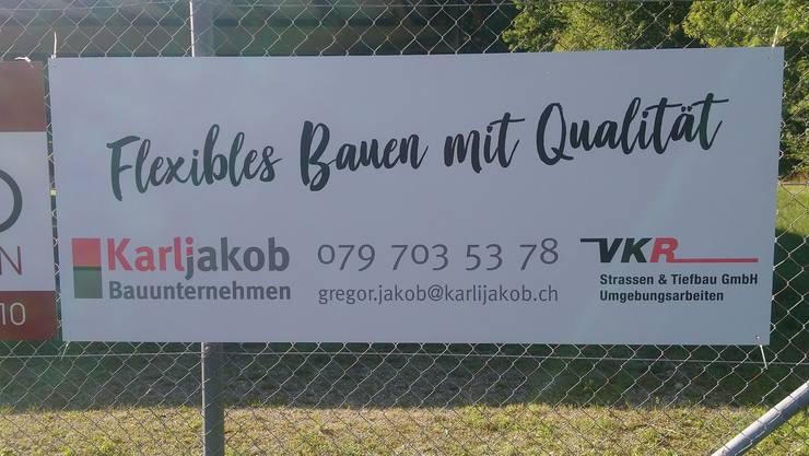 Der FC Zuchu bedankt sich herzlich bei Gregor Jakob und seiner Firma Karli Jakob GmbH für die Unterstützung in dieser anspruchsvollen Zeit!