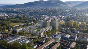 Acht neue Gebäude sieht der Quartierplan Stöcklin-Areal vor. Entwickelt und realisiert wird die Überbauung vom Generalunternehmen HRS.