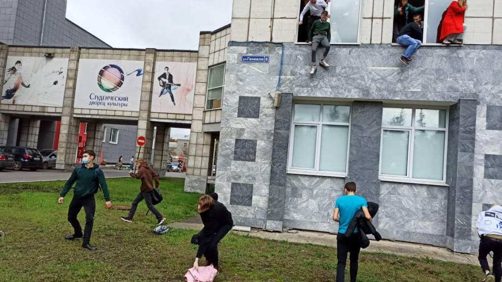 Mann schiesst an Uni in Russland um sich – mehrere Verletzte