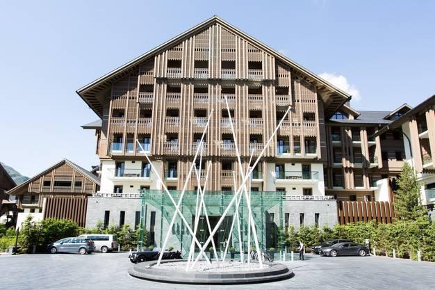 Das bekannte Luxushotel in Andermatt, das Sawiris gebaut hat.