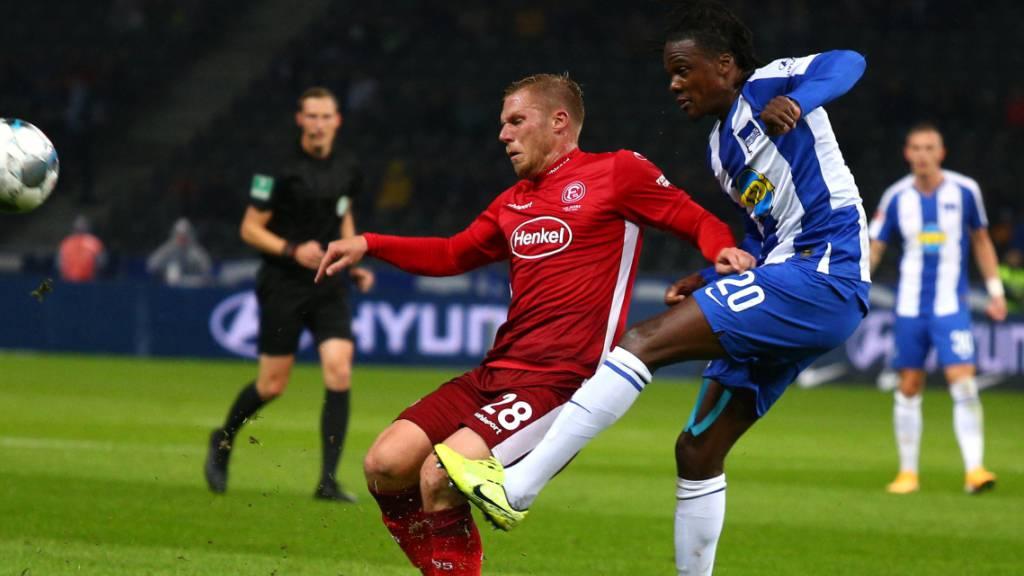Hertha bezwingt Düsseldorf nach Rückstand