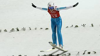 Bigna Windmüller sprang im Anschlusstraining drei Mal in die Top 10