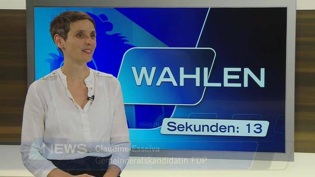kurz & knackig: Claudine Esseiva, FDP