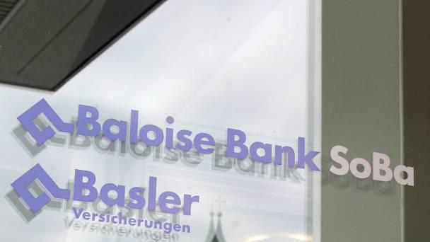 Filiale der Baloise Bank SoBa in Solothurn.