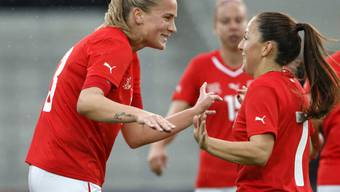 Ana Maria Crnogorcevic traf gegen Dänemark zweimal