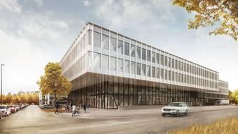 Der neue Schweiz-Sitz von Skan. Das Unternehmen beliefert unter anderem Pharma-Unternehmen mit Anlagen für die Abfüllung und Dosierung.