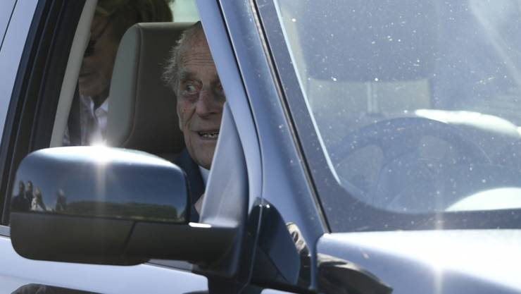 Prinz Philip wird künftig nicht mehr selber am Steuer sitzen. (Archivbild)