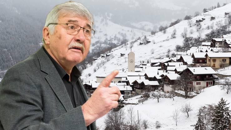Dessen SP-Gemeindepräsident Beat Jost sagt: «Denn genau gesehen, ist die Initiative der Jungen Grünen ein Milliardengeschenk für das Wallis.»