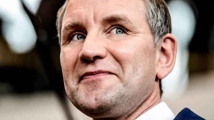 """Björn Höckes """"Flügel"""" soll sich auflösen. Ob er das auch wirklich macht, bleibt offen."""