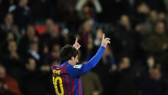 Lionel Messi neuer Rekordtorschütze von Barcelona.