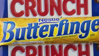 Der Nahrungsmittelmulti Nestlé verkauft sein US-Süsswarengeschäft mit Produkten wie Butteringer, Crunch und BabyRuth an Ferrero. (Archiv)