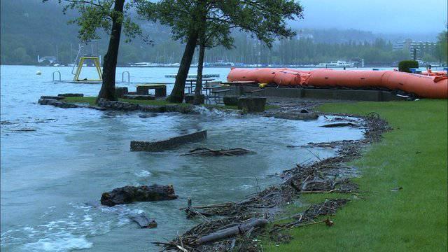 Hochwassergefahr immer noch akut