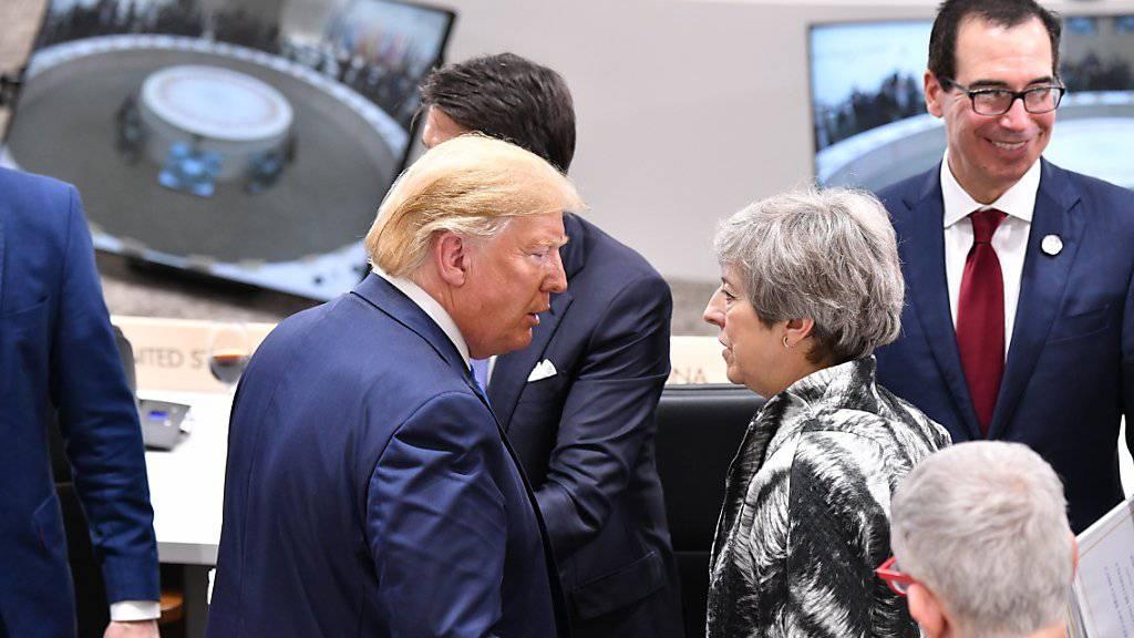 Trump attackiert Theresa May
