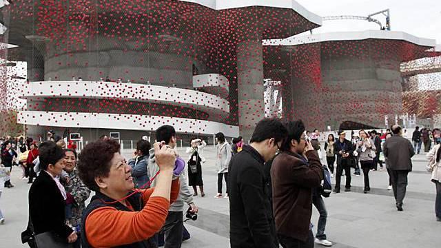 2,5 Millionen Besucher werden im Schweizer Pavillon erwartet