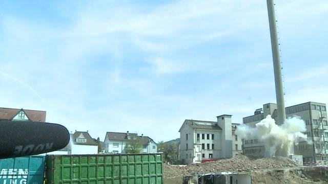 Kamin-Sprengung in Breitenbach