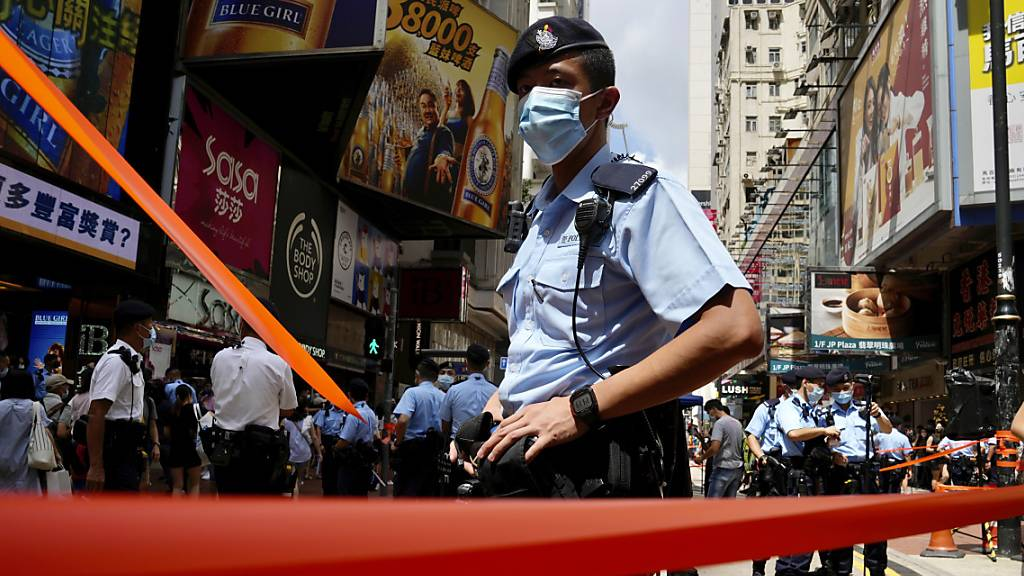 Hongkong begeht Jahrestag der Rückgabe an China