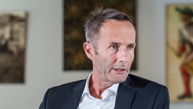 Stand für den Aufbruch: Robert Suter (58), der im Frühling CEO der Villiger Gruppe wurde, nun aber schon wieder aus dem Unternehmen ausgeschieden ist.
