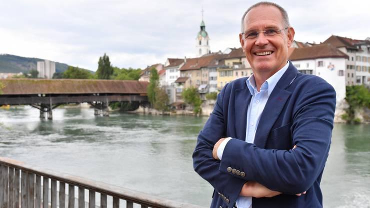 Er will für die FDP die Ständerats-Kohlen aus dem Feuer holen: Stefan Nünlist.
