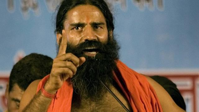 Yoga-Guru Swami Baba Ramdev