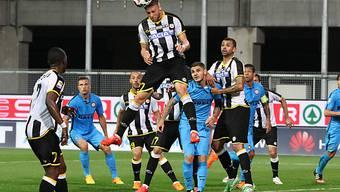 Udineses Schweizer Silvan Widmer steigt höher als Freund und Feind