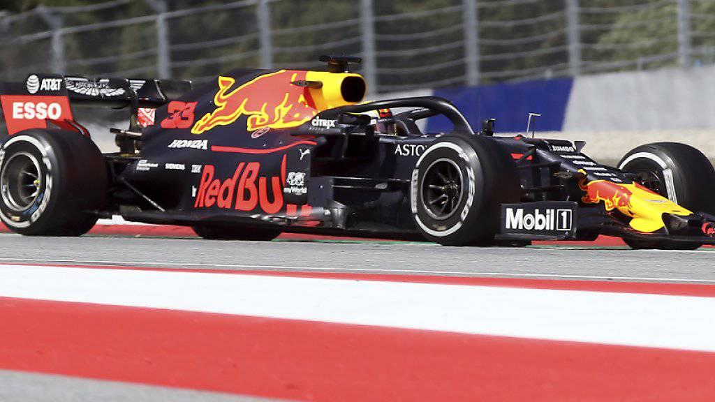 Max Verstappen im Red Bull wiederholte beim GP von Österreich in Spielberg seinen Sieg aus dem Vorjahr