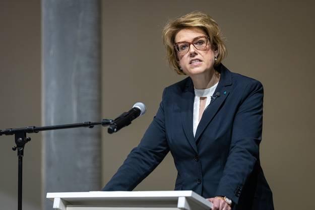 SVP-Fraktionschefin Désirée Stutz.