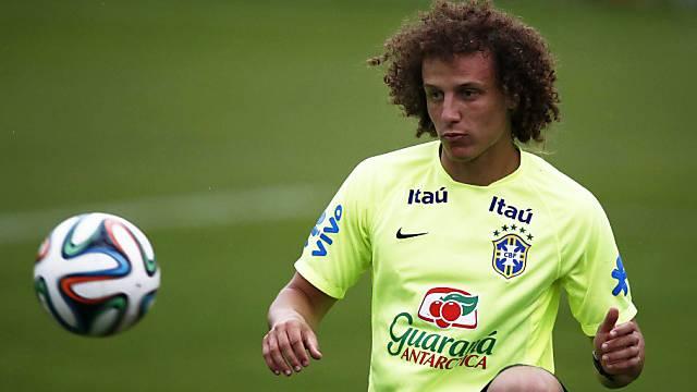 Steht David Luiz gegen Chile in Brasiliens Startformation?