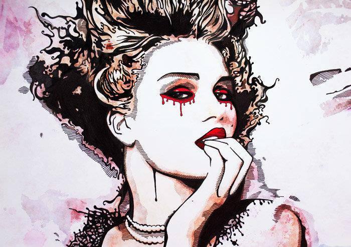 Kunstwerke von Katarina Sokolova (© Katarina Sokolova)