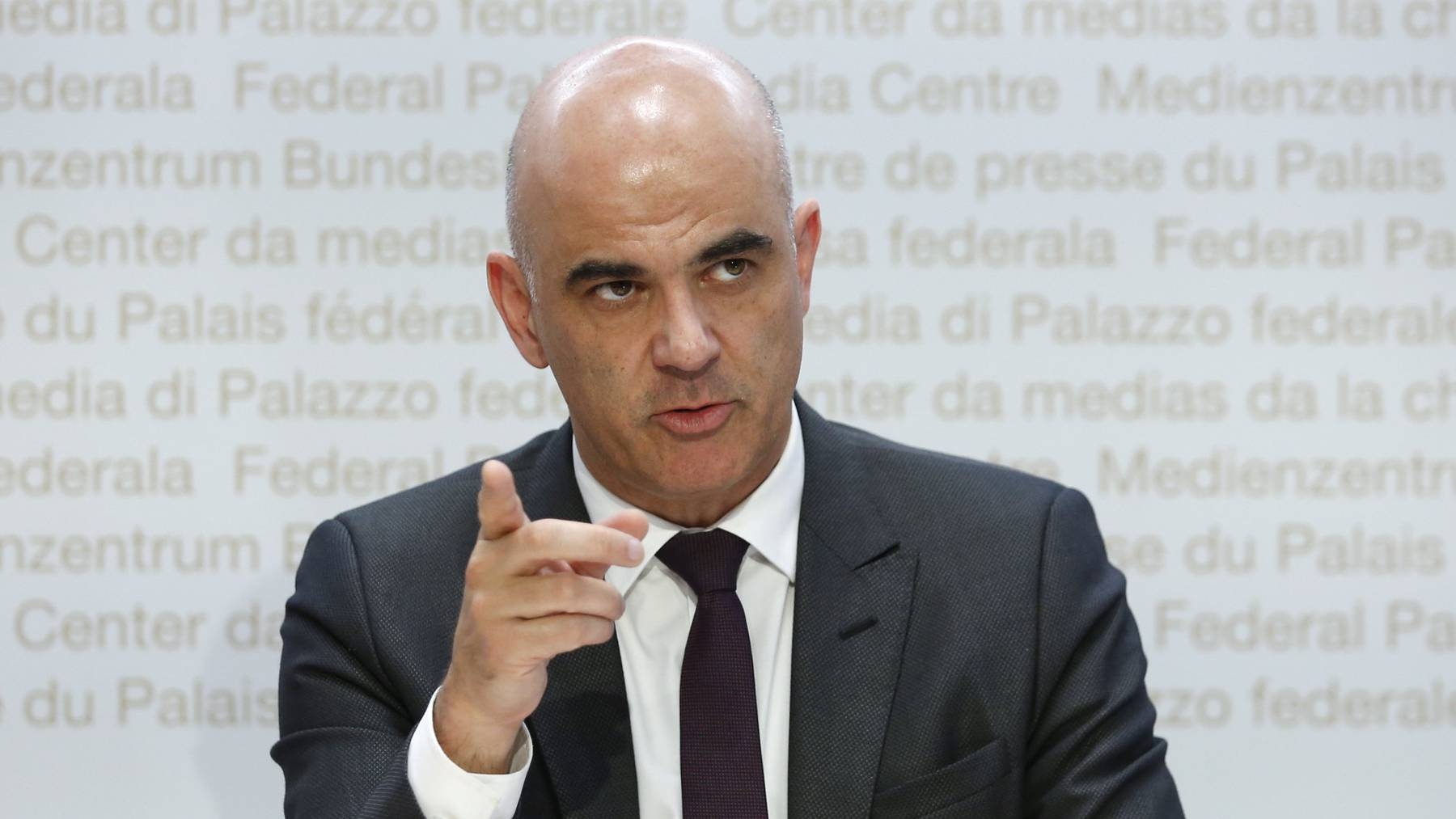 Bundesrat Alain Berset ist zuversichtlich, was die nächsten Wochen betrifft.