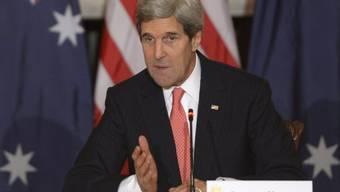 US-Aussenminister John Kerry (Archiv)