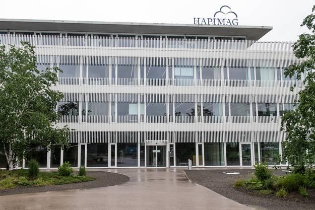 Der neue Hapimag-Hauptsitz in Steinhausen.