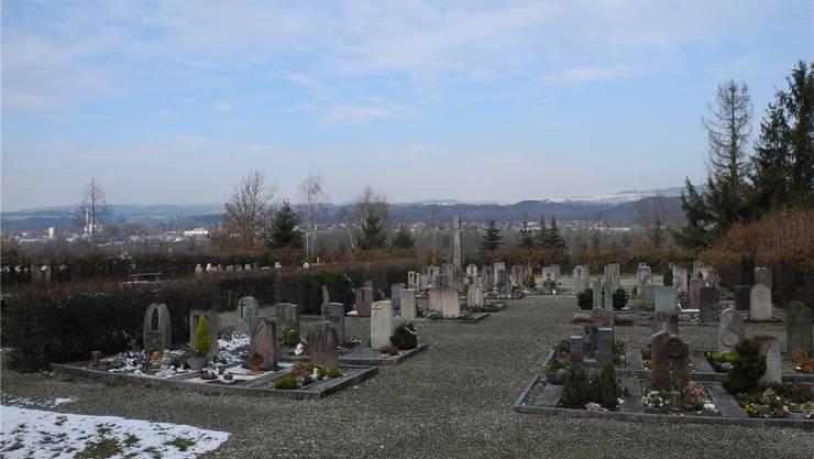 Der Friedhof kann vorerst nicht neu gestaltet werden.