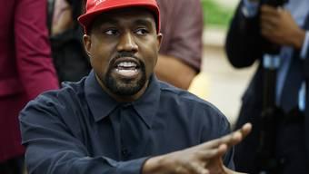 Hat plötzlich nichts mehr mit Politik am Hut: US-Rapper Kanye West. (Archivbild)