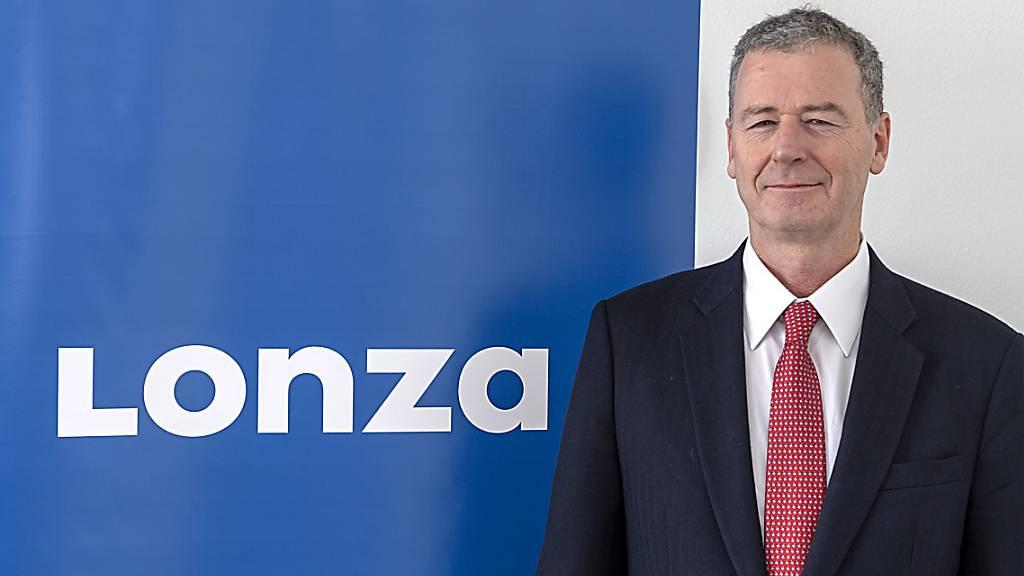 Lonza-Chef Marc Funk geht bereits wieder