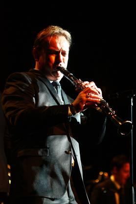 Praktisch jeder Musiker von Lienhards Big Band präsentierte ein Solo