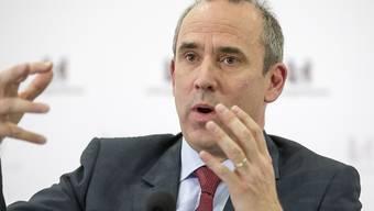 Eric Olsen, Konzernchef des Zementkonzerns LafargeHolcim, verlässt Mitte Juli das Unternehmen, weil es zu Fehlern im Lafarge-Werk in Syrien gekommen ist.(Archiv)