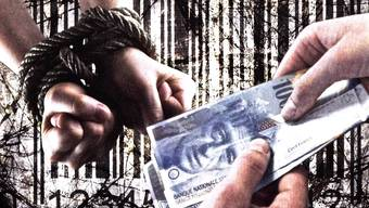 Der Kanton Aargau gehört bei der Aufklärungsrate von Menschenhandel zu den Schlusslichtern.