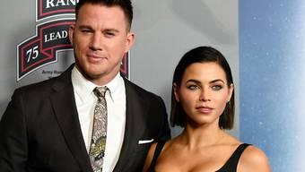 Gehen künftig getrennte Wege: Schauspieler Channing Tatum und seine Frau Jenna Dewan. (Archivbild)