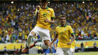 Confed Cup Brasilien bezwingt Italien