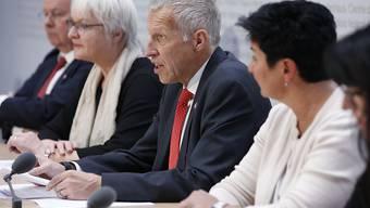 Bürgerliche Parteien und Wirtschaftsverbände kämpfen Seite an Seite für die AHV-Steuervorlage.