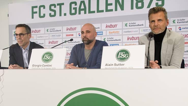 Beim FC St. Gallen geht der Umbau weiter